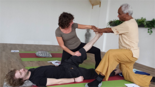 thai yoga massage Workshop op zondag